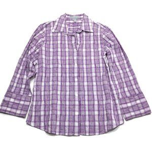 Foxcroft Fitted Button Shirt